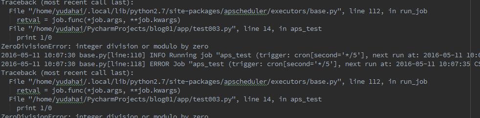 Python flask APScheduler - Programmer Sought