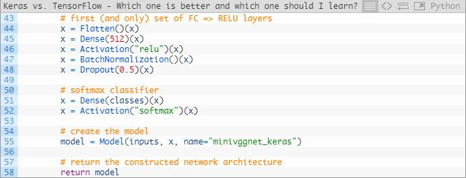 Keras or TensorFlow? Deep learning framework selection and