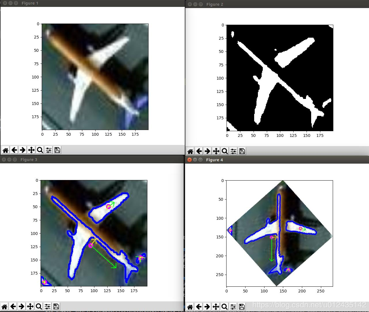 Using opencv to calculate PCA for image orientation
