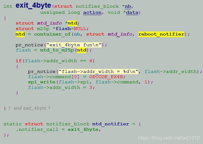 Nuc970 spi flash 32M reboot problem - Programmer Sought