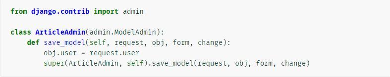 DJANGO ADMIN background setting - Programmer Sought
