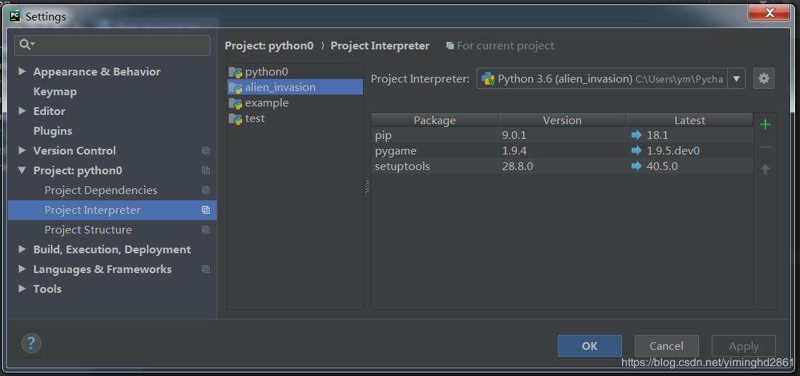 Python: Download and install Pygame - Programmer Sought