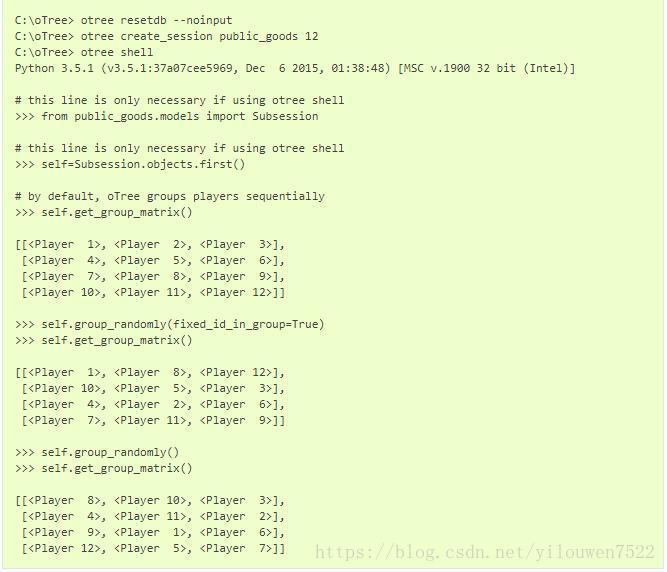 oTree study tutorial (six) Multiplayer games - Programmer Sought