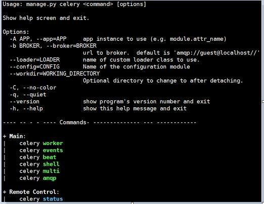 Asynchronous task queue Celery in Django - Programmer Sought