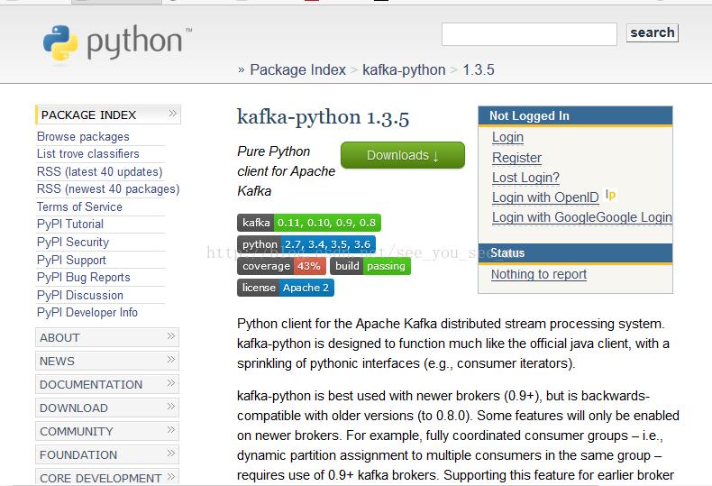 Use python kafka real topic data read demo, including