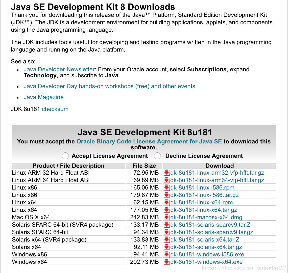 Java developer kit mac download