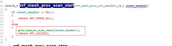 Nordic mesh protocol startup configuration process analysis (1