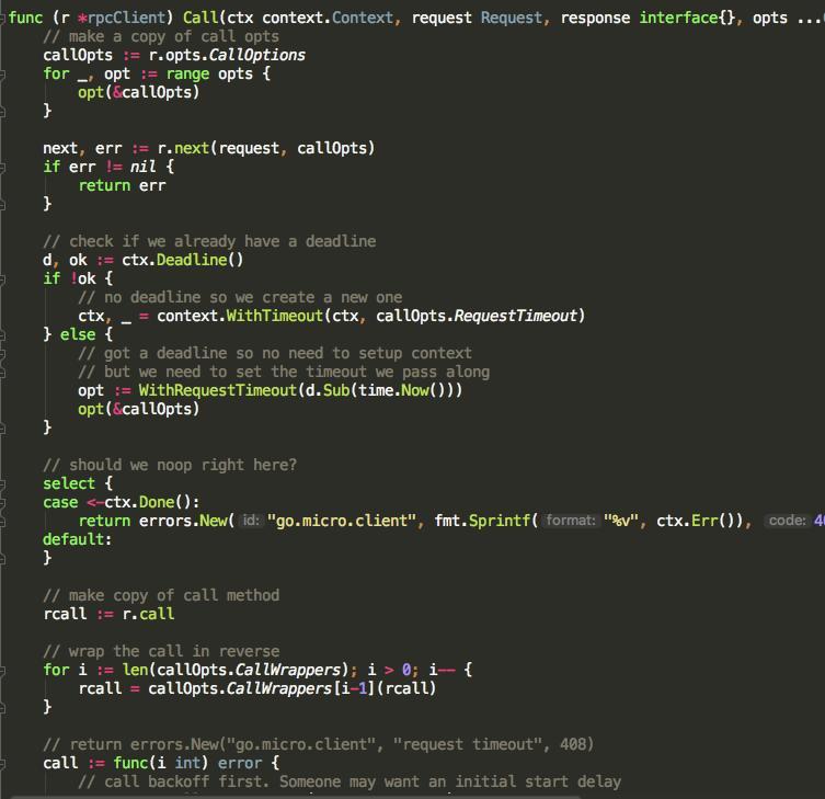 Go micro-service framework go-micro deep learning (3
