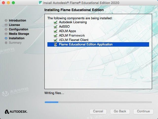 3D visual effects synthesis software flame 2020 mac