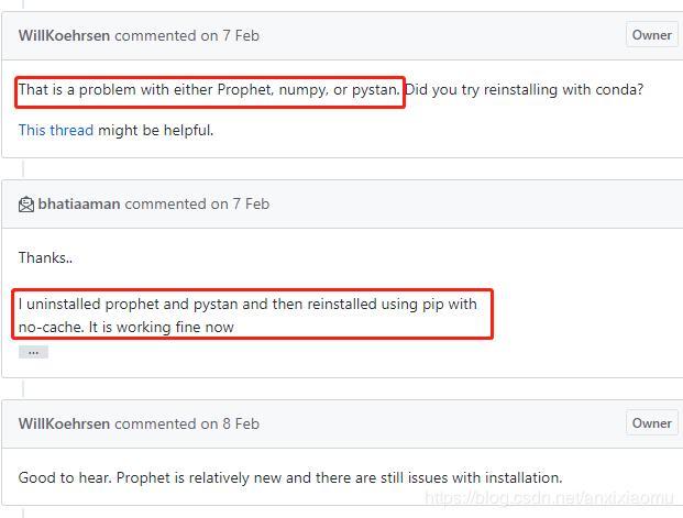 Win10--fbprophet installation method and BUG solution - Programmer