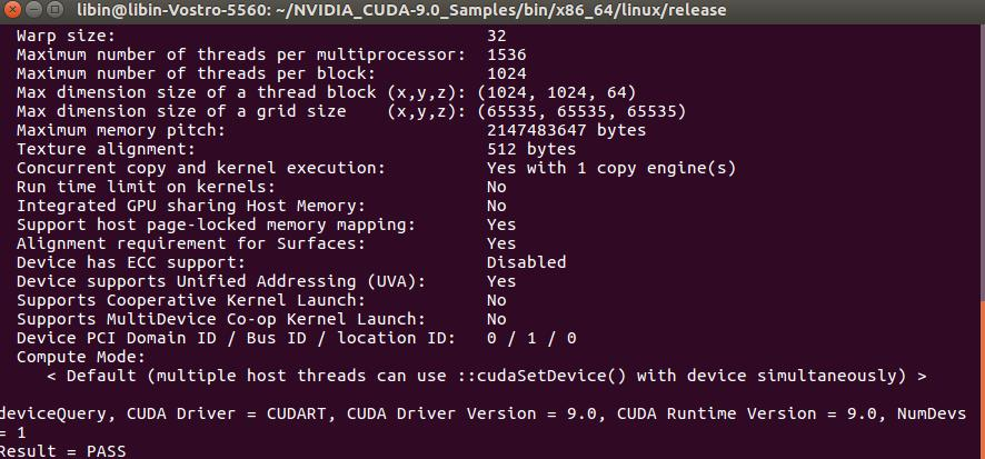 CUDA 9 0 detailed tutorial on Ubuntu 16 04 - Programmer Sought