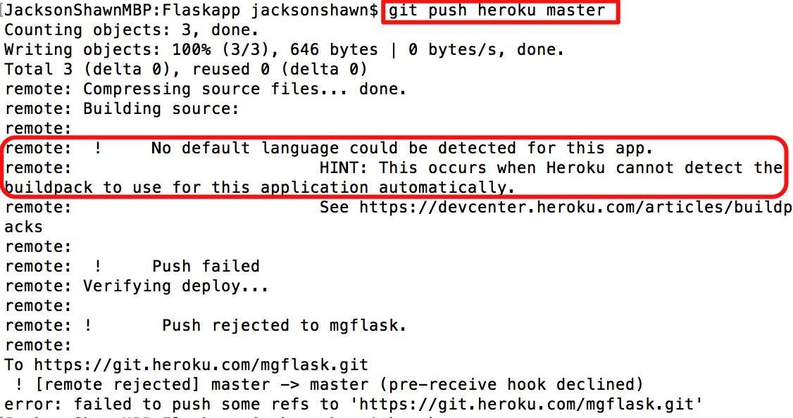 Deploy The Python Flasky Project To Heroku Programmer Sought