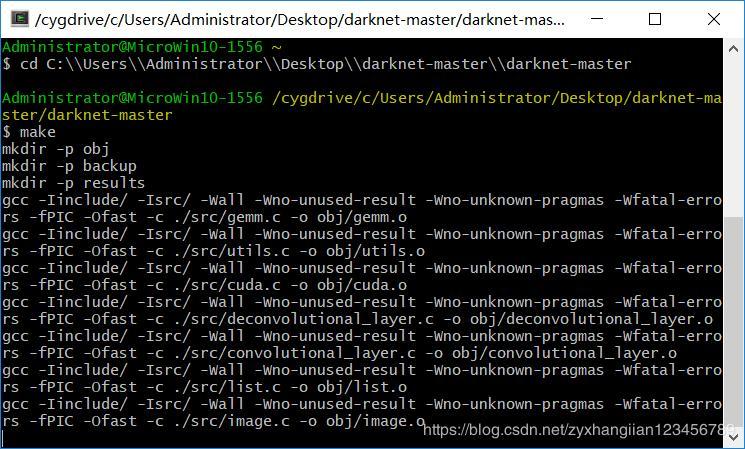 Install darknet (CPU) under windows - Programmer Sought