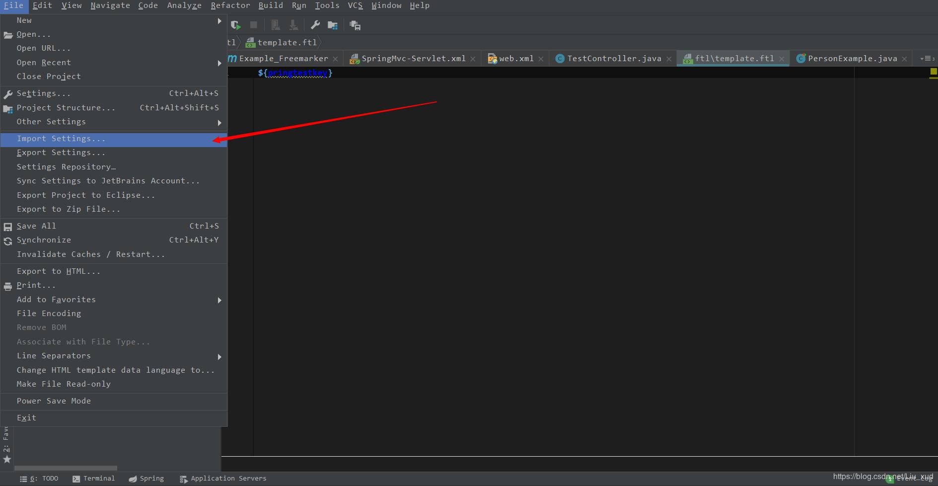 Intellij IDEA theme import and delete - Programmer Sought