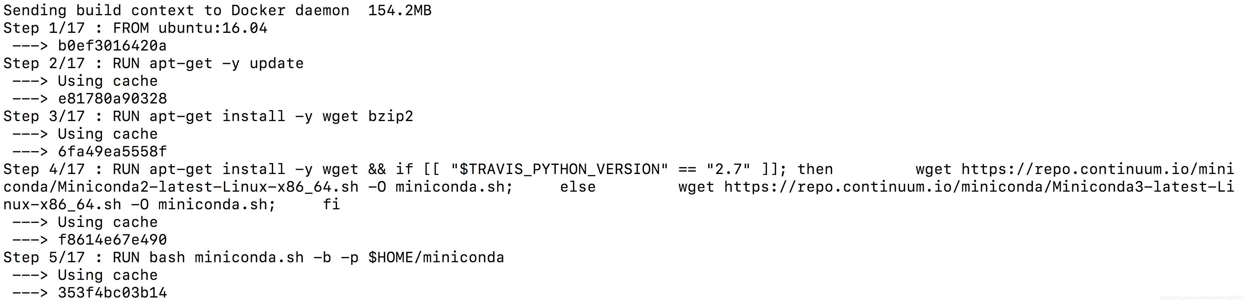 Error response from daemon: Dockerfile parse error line 11: unknown