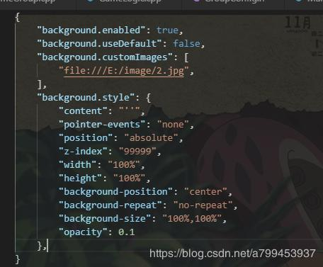 Visual Studio Code To Set A Custom Background Image Programmer Sought