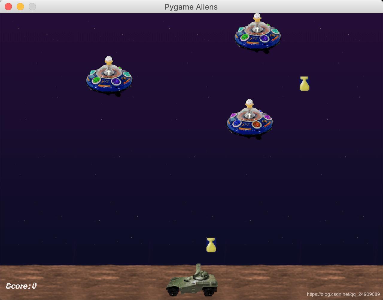 Python mac running pygame blank - solution - Programmer Sought
