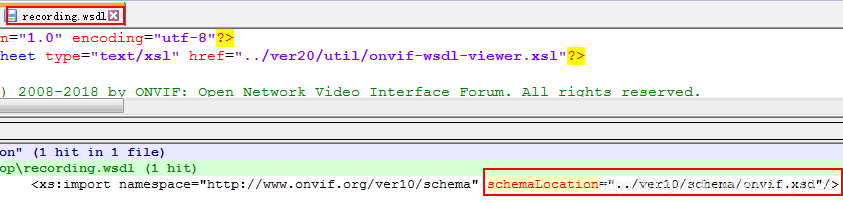 Gsoap generates ONVIF code - Programmer Sought