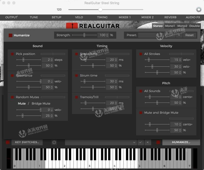 MusicLab RealGuitar 5 for Mac (wood guitar sound source