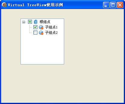 Virtual TreeView usage example - Programmer Sought