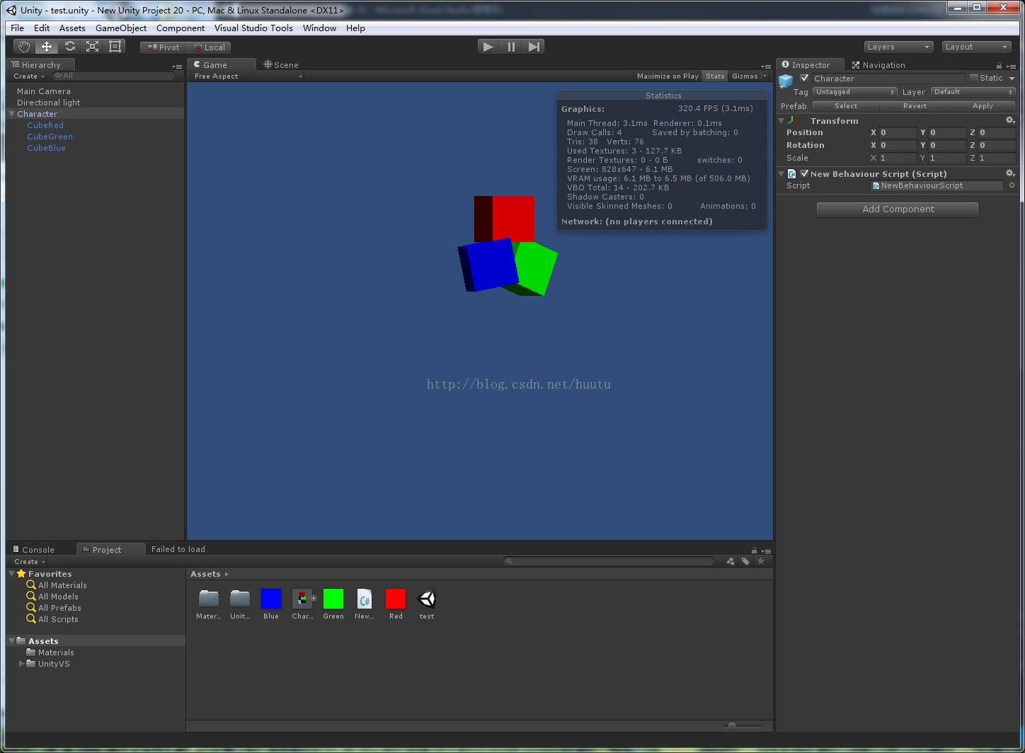 Unity3d character reloading Mesh merge material merge