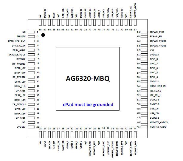 dp to hdmi/vga solution design circuit diagram reference