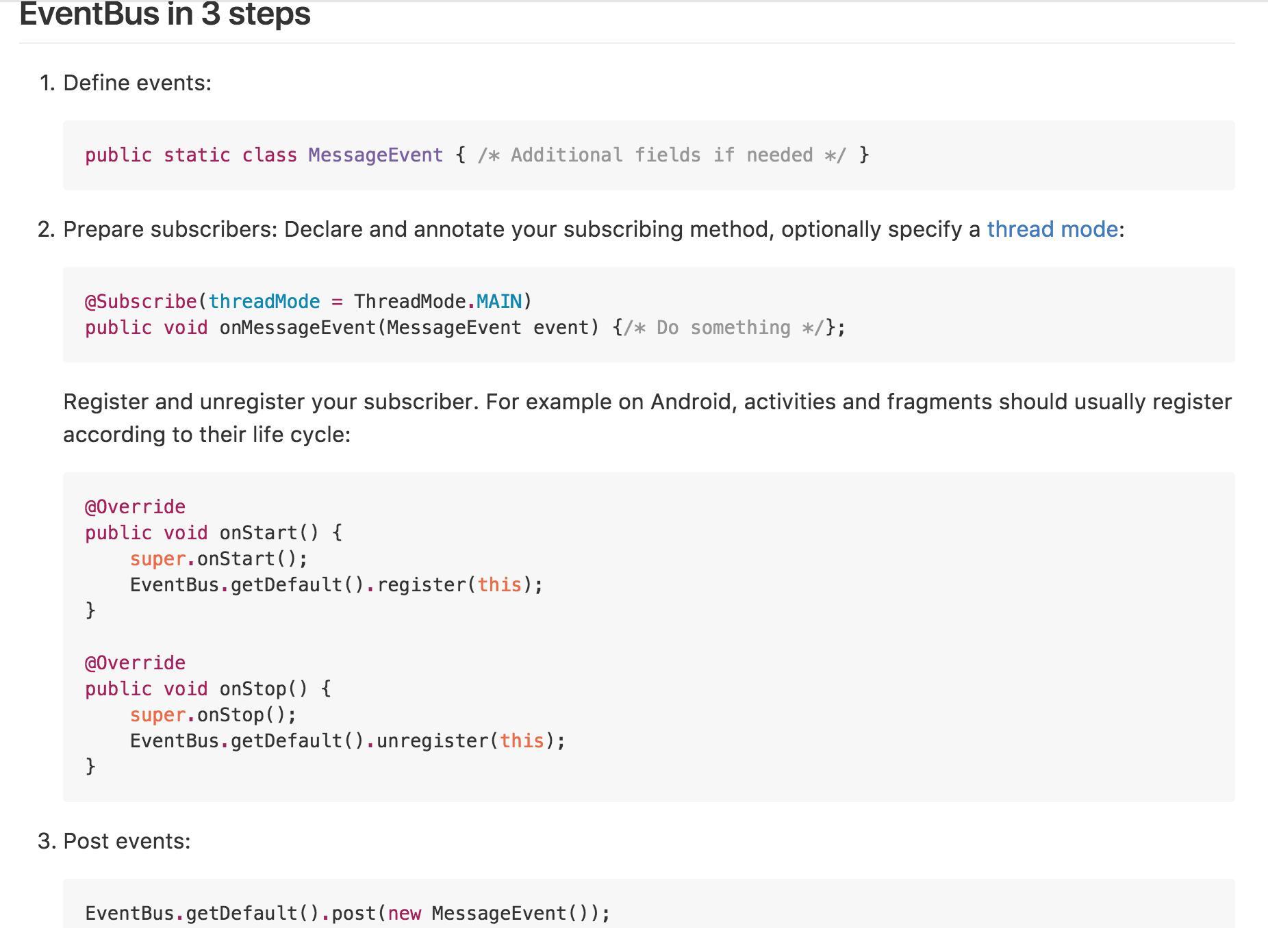 EventBus 3 0 source code analysis - Programmer Sought
