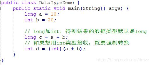 Chapter 2 (1), java basic syntax keywords and data types