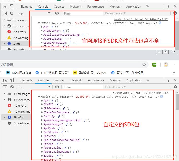 Get data using JavaScript in AWS - Programmer Sought