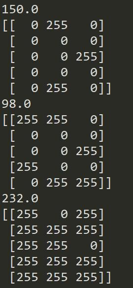 Opencv learning - threshold segmentation - Programmer Sought