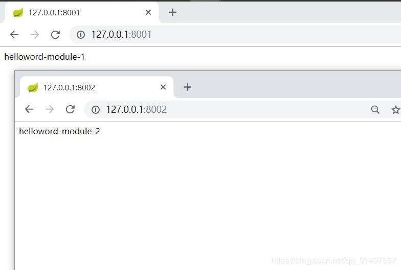 VSCode creates SpringCloud multi-module project (maven