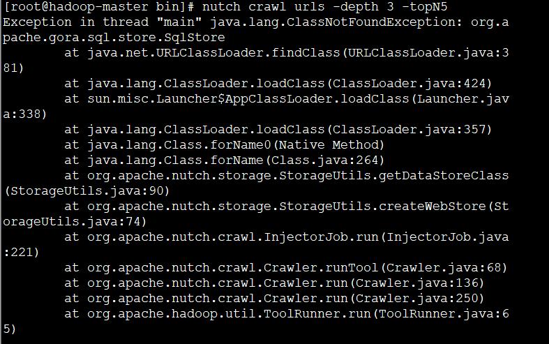 Install and configure nutch2.2+mysql under centos7 - Programmer Sought