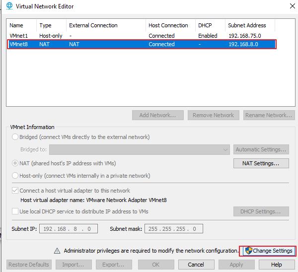 vmware virtual machine NAT set static ip and ping external ... Vmware Ping Command
