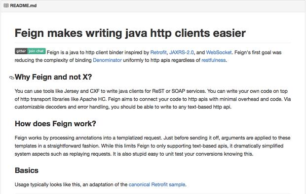 Feign: Java HTTP client library - Programmer Sought