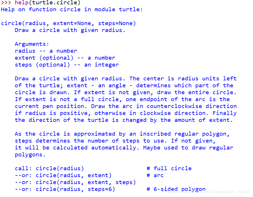 Python study notes (six): Turtle drawing (2) - Programmer Sought