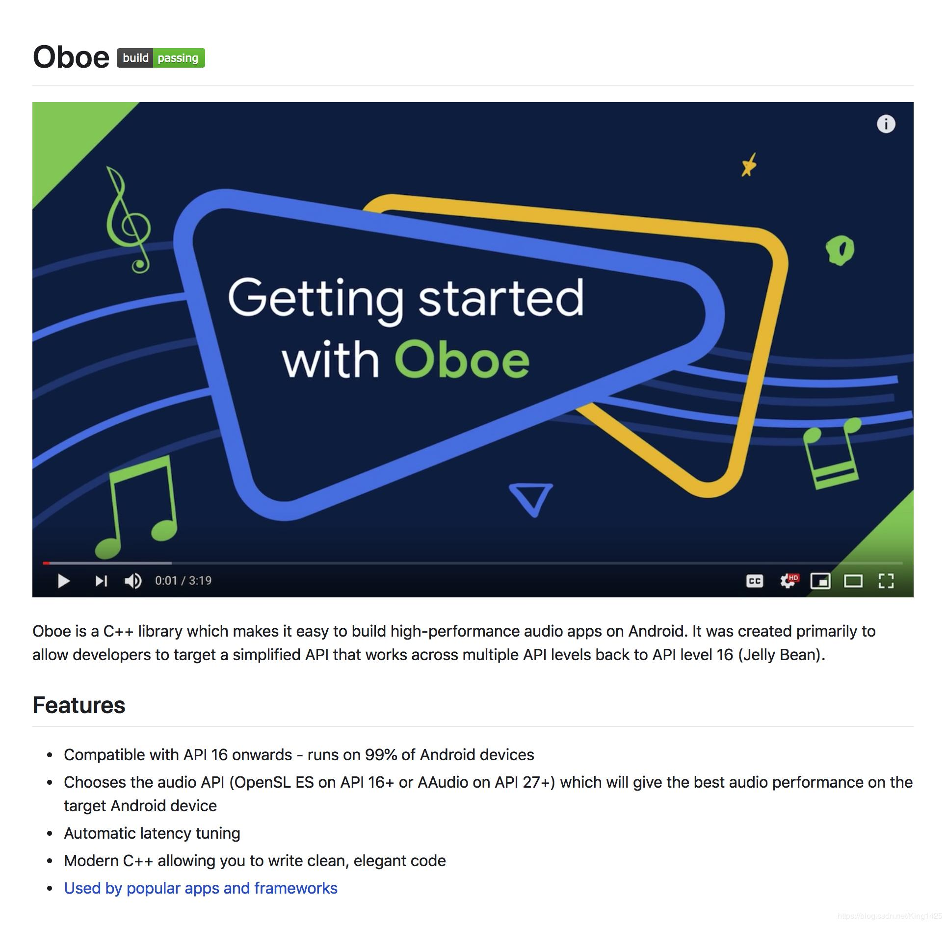 Android Ears Practice OpenSL ES AAudio Oboe - Programmer Sought