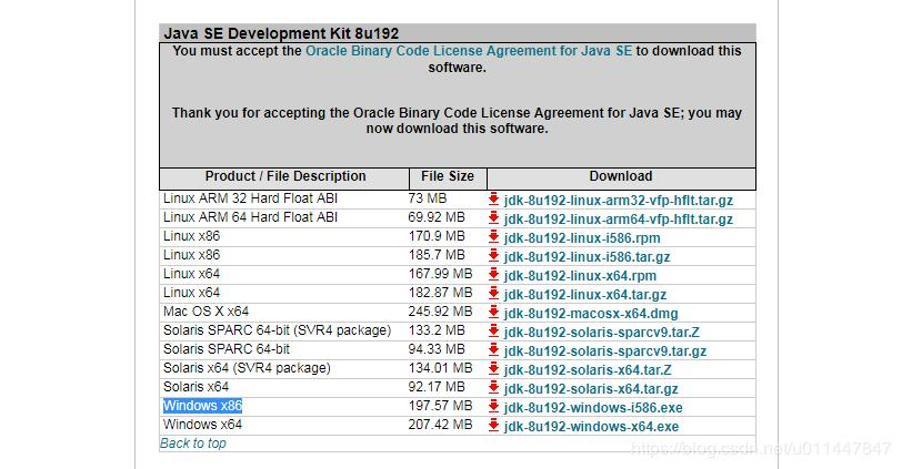Java JDK download installation and configuration of environment
