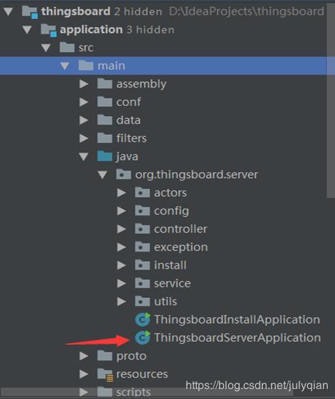 ThingsBoard source code analysis - debugging environment to