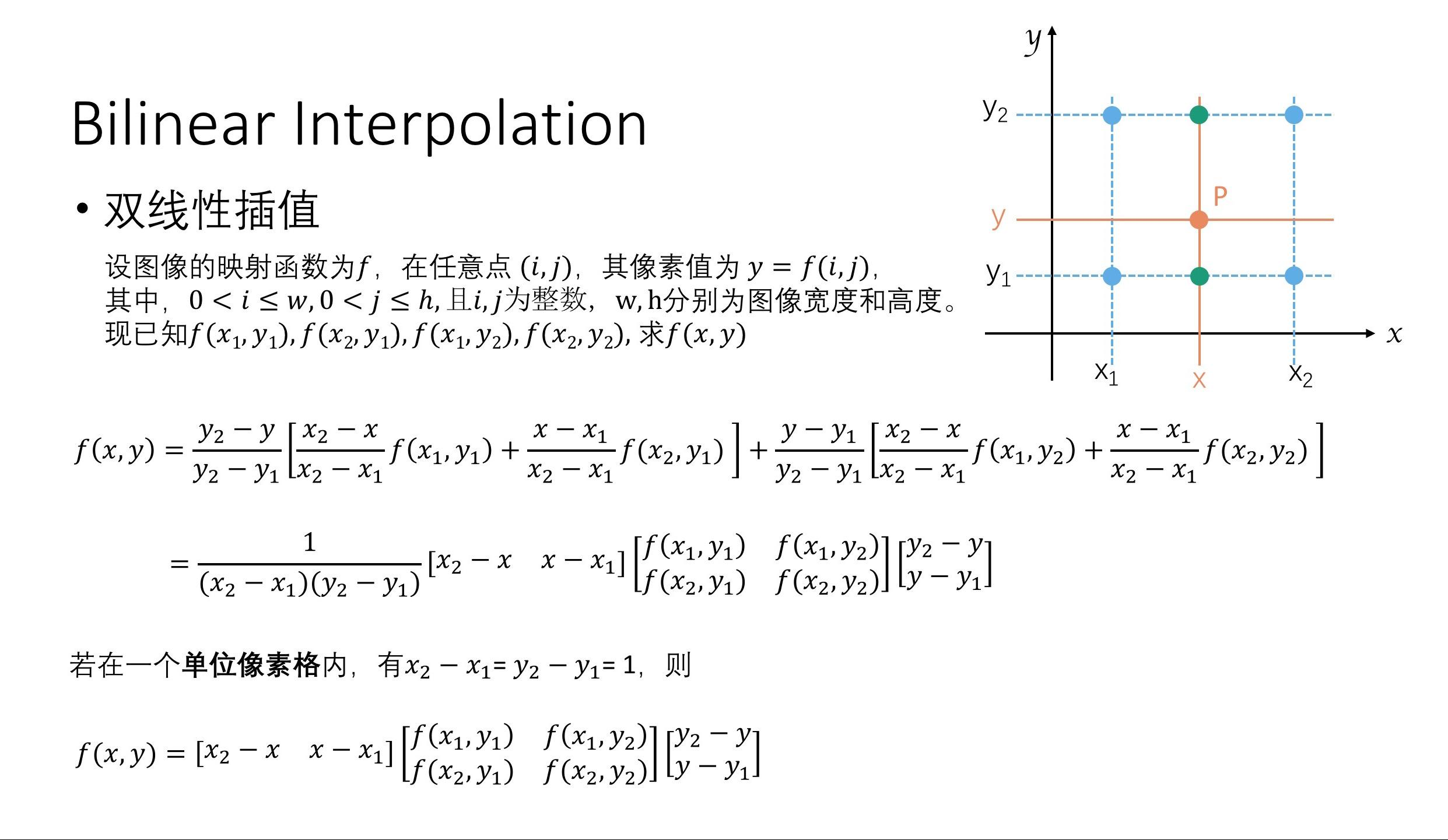 Bilinear Interpolation Python