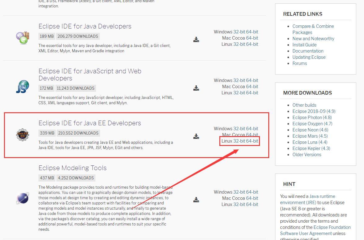 Black Monkey's Home: CentOS Linux Environment Eclipse Installation