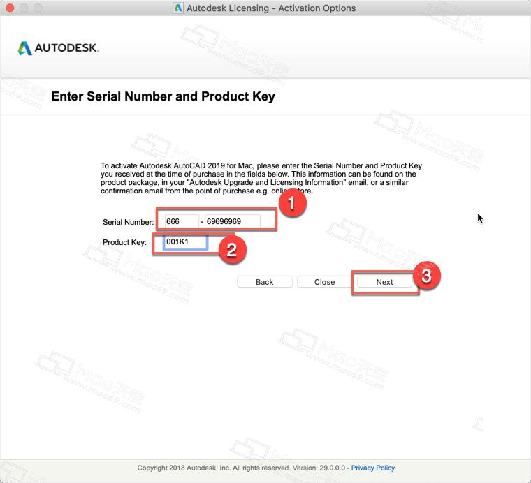 autocad 2018 serial number and product key crack free download