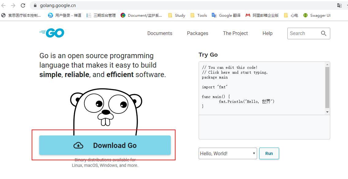 Go Language Learning 1 Go Language Environment Construction Programmer Sought