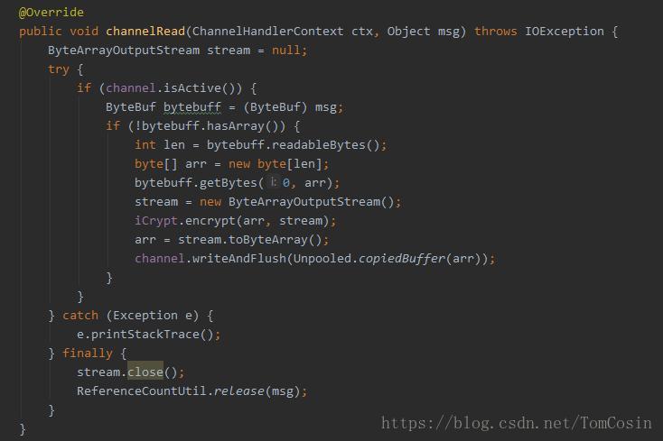 Java implements socks5, ss proxy, netty framework learning