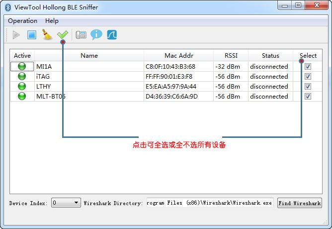 Hollong Low Power Bluetooth 4 0/4 1/4 2 BLE Sniffer Protocol