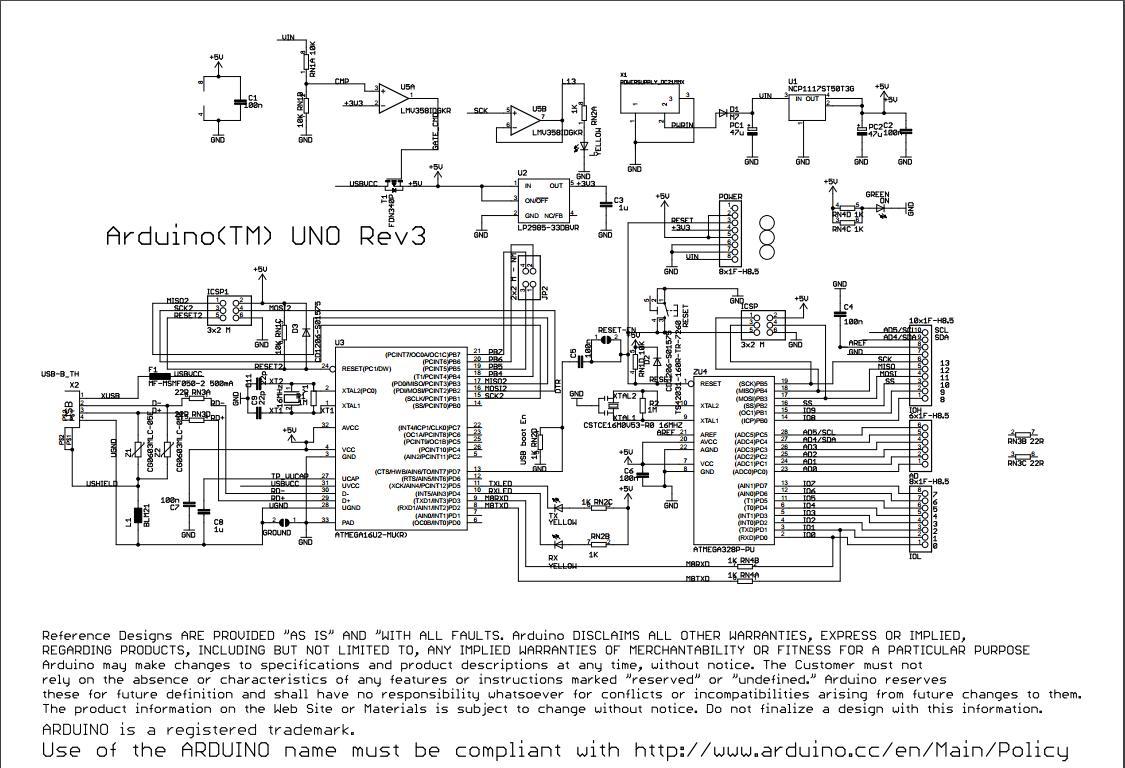 Schematic Of Arduino Uno Programmer Sought