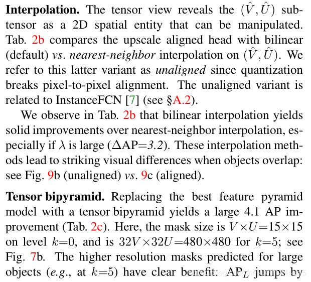 Neural Network | TensorMask: A Foundation for Dense Object