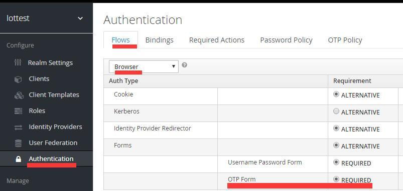 Keycloak turns on OTP login - Programmer Sought