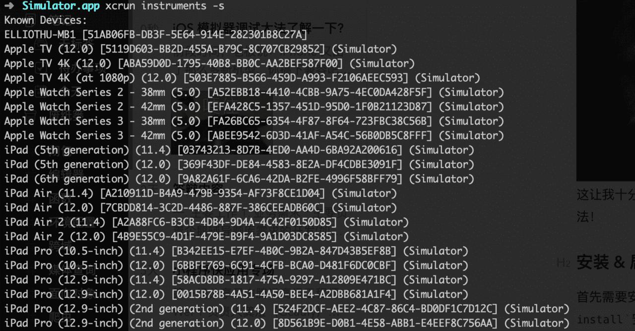 iOS Simulator Debugging WebView - Programmer Sought