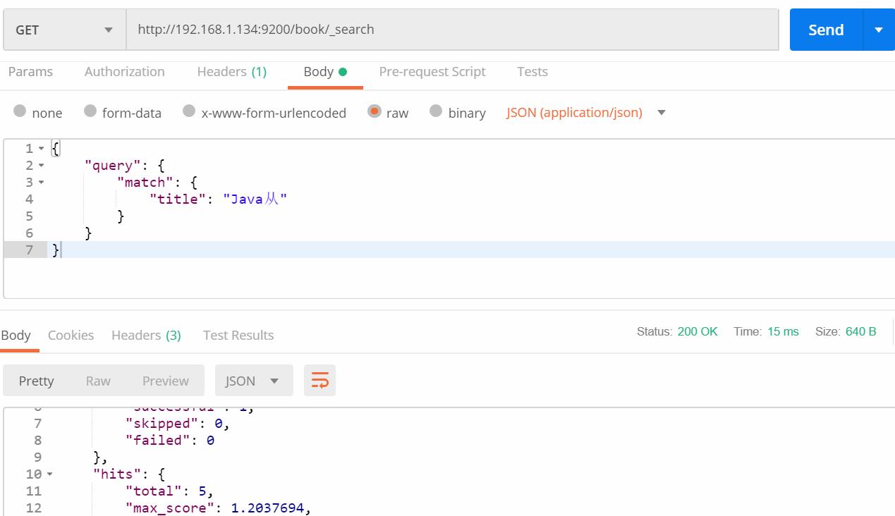 Elasticsearch query - Programmer Sought