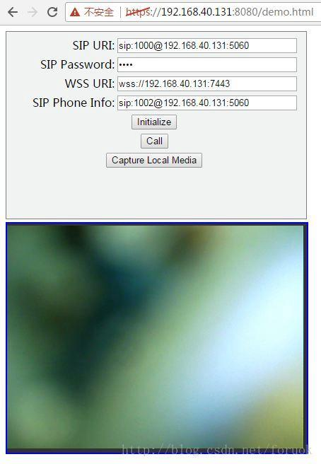 WebRTC + JsSIP + freeSWITCH one-to-one video chat